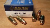 Magtech .45 ACP 230 grs FMJ-SWC