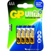 Batteri GP Ultra Plus AAA 4/fp