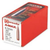 Hornady 6,5mm A-Max 123grains