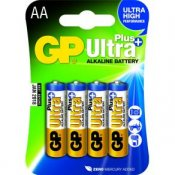 Batteri GP Ultra Plus AA 4/fp